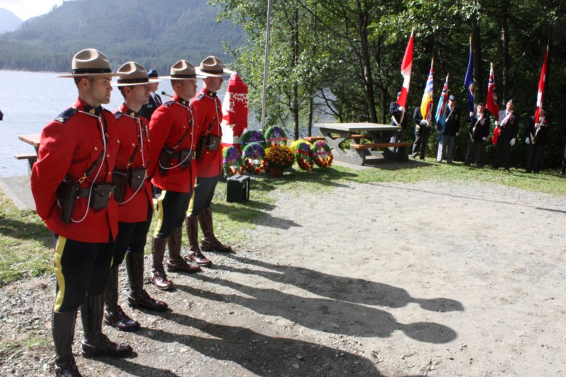 Colour Party and RCMP