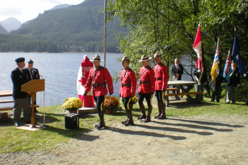 RCMP and Colour Pary