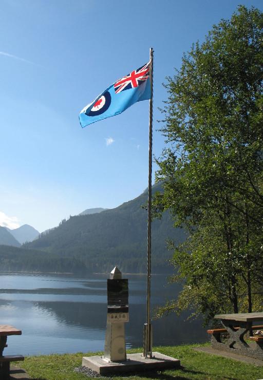Memorial overlook Neroutsos Inlet