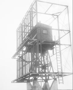 WWII Radar unit at RCAF Station Cape Scott