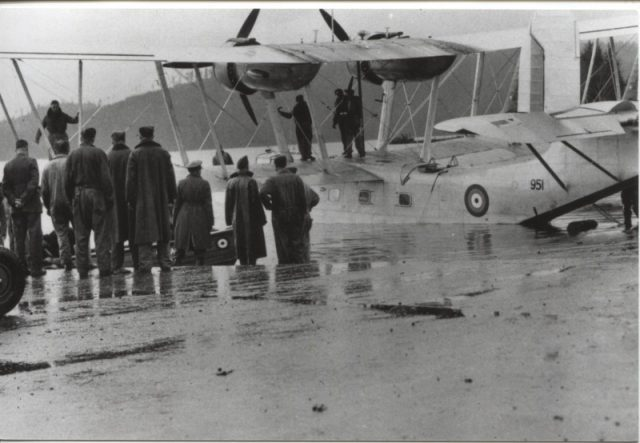 Stranraer launch 1941