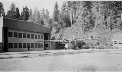 PBY at RCAF Station Alliford Bay, May 42