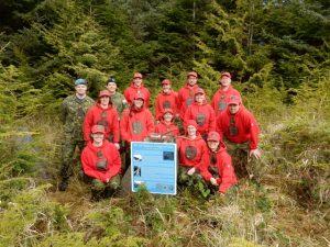 Canadian Rangers at Langara Island