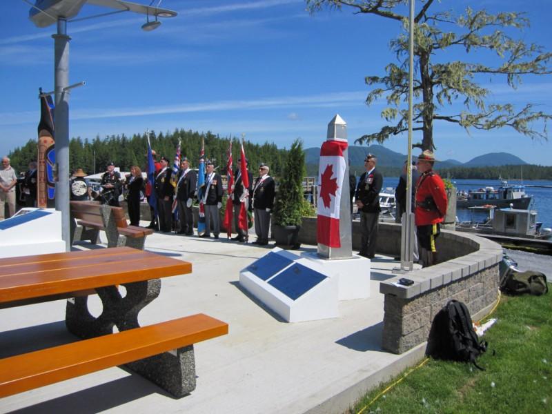 RCAFA, Legion, and RCMP